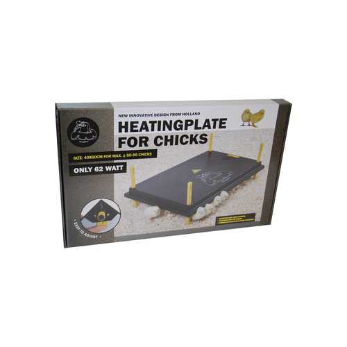 COMFORT HEATING PLATE FOR CHICKS 40X60CM, 62W