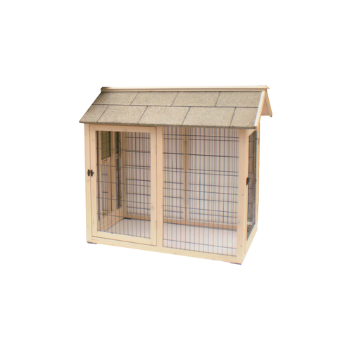 RUN OUTDOOR CAGE WOOD JULIETTE