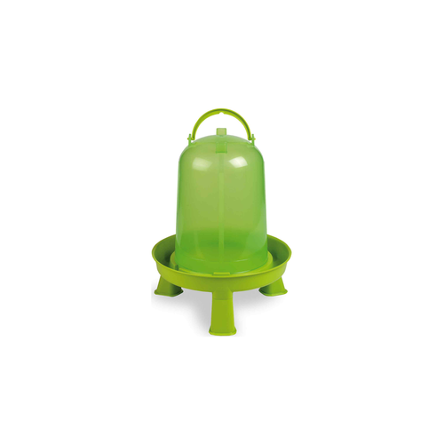 PLASTIC FOUNTAIN GREEN +LEGS  5 L