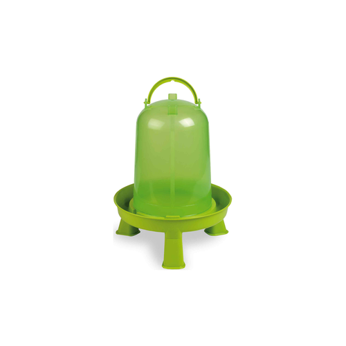 PLASTIC FOUNTAIN GREEN +LEGS  8 L