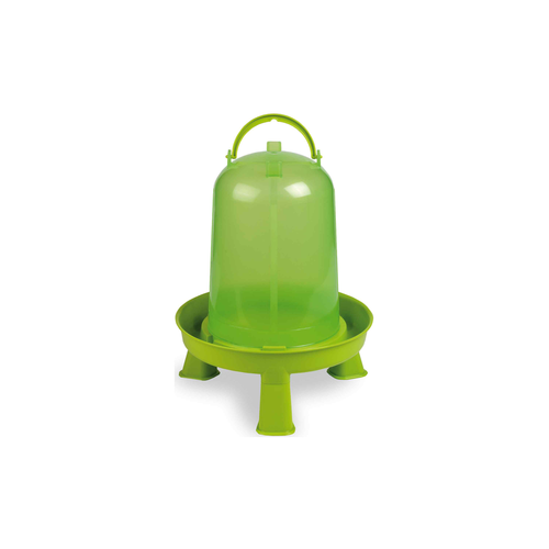 PLASTIC FOUNTAIN GREEN +LEGS 10 L