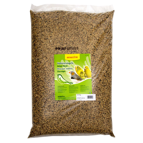 MIX FOR AVIARY BIRDS WITH MILLET 20 KG