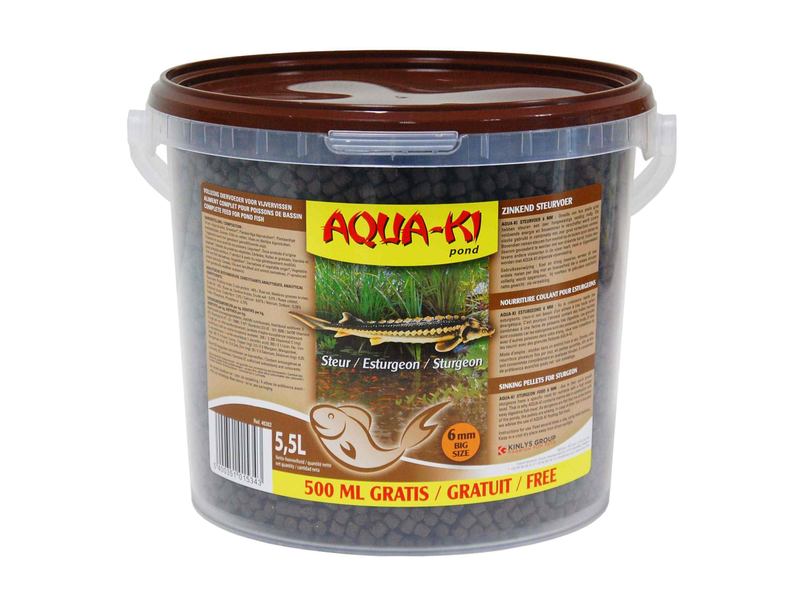 AQUA-KI BROWN 5.5 L ESTURGEON 6MM