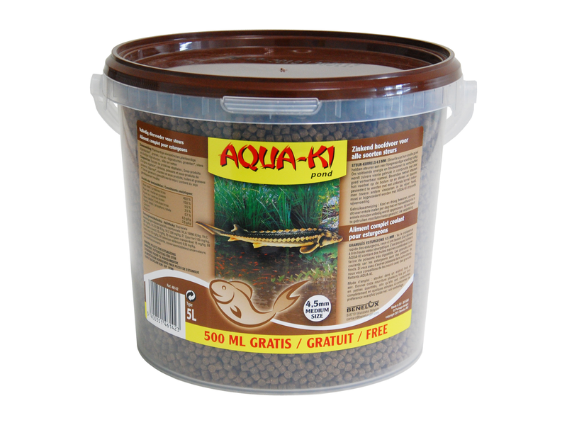 AQUA-KI BROWN 5.5 L ESTURGEON EMMER 3000+250 GRATI