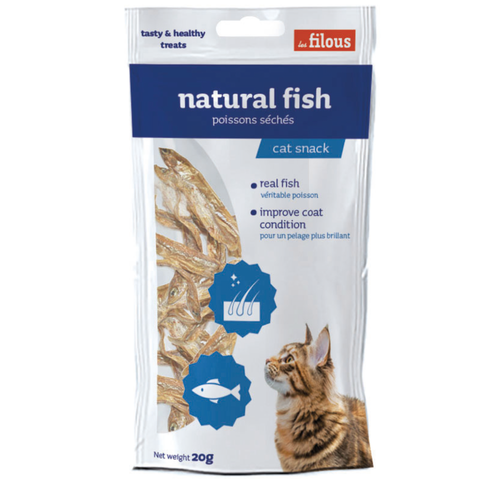 FILOUS 20Gx NATURAL FISH