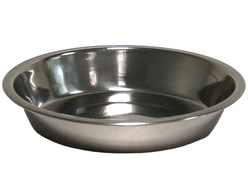 DISH STAINLESS STEEL 15 CM 0,30 LTR