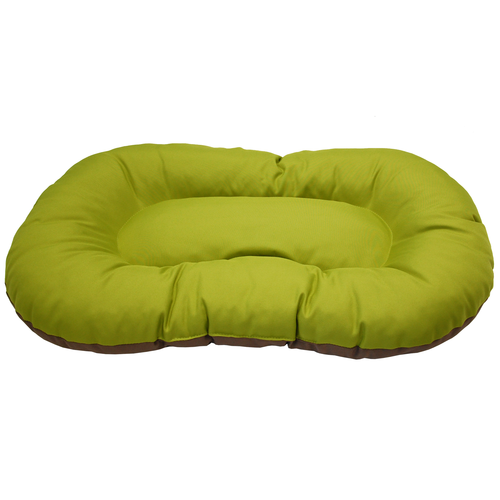 DOG CUSHION KINLYS 50 CM GREEN/GREY