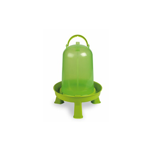 ECO CHICKEN DRINKER 3 L WITH LEGS (GREEN)