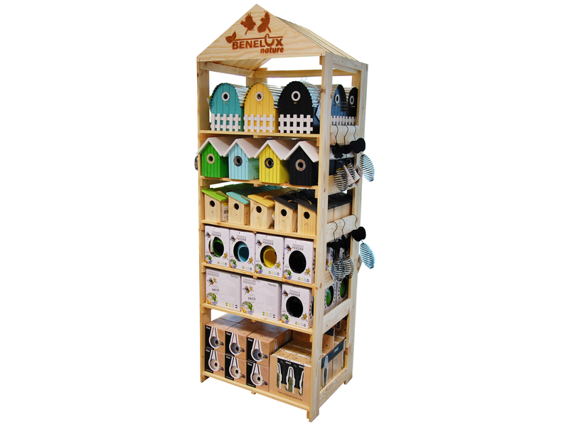 HOUTEN DISPLAY BENELUX NATURE GEVULD 2