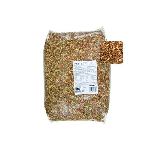 EXTRUDED TURTLE FOOD MIX 3 COLORS 10 KG