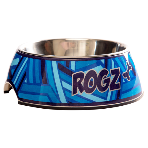 ROGZ BOWLZ SMALL NAVY ZEN SMALL