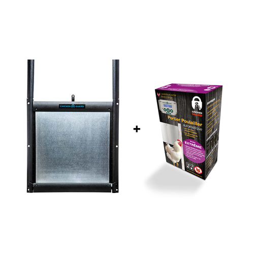 SELF-LOCKING DOOR KIT & CHICKENGUARD EXTREME