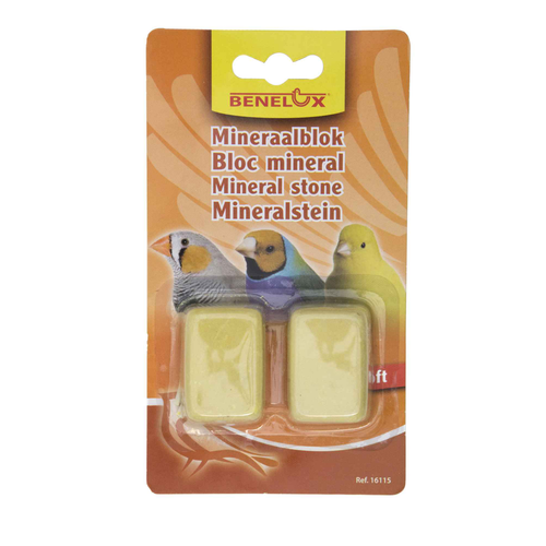MINERAL BLOC 2 X SOFT SMALL YELLOW BLISTER