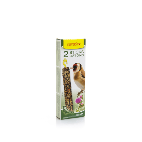 SEEDSTICKS EUROPEAN FINCHES NATURA X 2 PCS