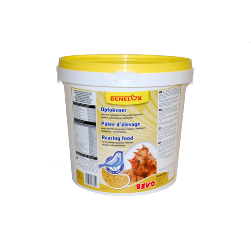 YELLOW REARING FOOD BEVO 5 KG BUCKET