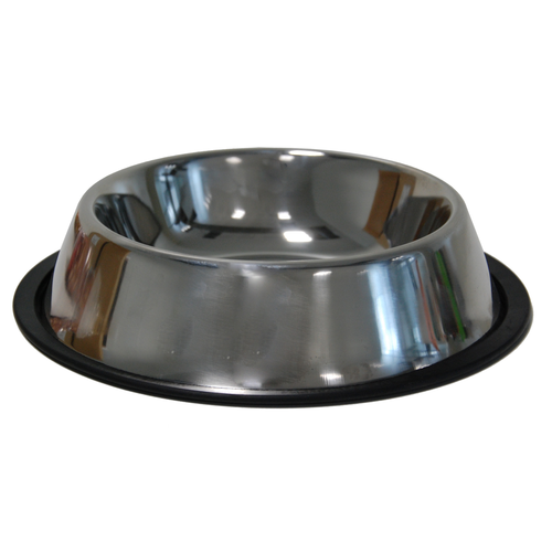 DOG BOWL STAINLESS STEEL SPECIAL  800 ML-17/24 CM