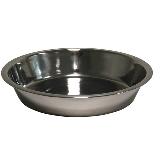 DISH STAINLESS STEEL  20 CM 0,75 LTR
