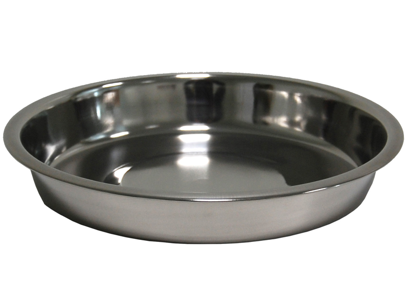 DISH STAINLESS STEEL  25 CM 1,5 LTR